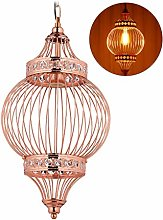 Relaxdays 10028393 Lampe suspension, orientale,