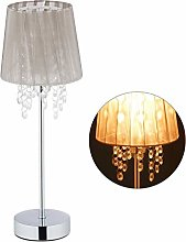 Relaxdays 10029521 Lampe de table cristal,