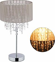 Relaxdays 10029522 Lampe de Table Cristal,