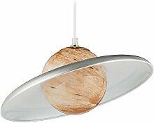 Relaxdays 10029537_55 Lampe suspension, Saturne,