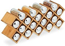 relaxdays 10031468 Etagère à épices en Bambou,