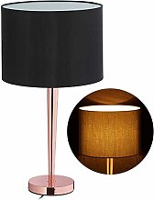 Relaxdays 10032240 Lampe de table, grosse veilleu