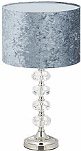 Relaxdays 10034470 Lampe de table, abat-jour en