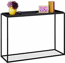 Relaxdays 10035297 Table Console, H x L x P 80 x