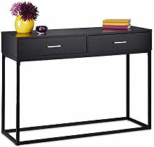 Relaxdays 10035302 Table Console, Meuble