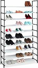 Relaxdays 10036197_49 Étagère à Chaussures,