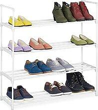 Relaxdays 10036200_349 Étagère à Chaussures, 4