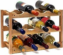 Relaxdays Casier à Vin Range Bouteilles