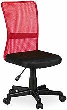 Relaxdays Chaise de Bureau, Ergonomique, Fauteuil