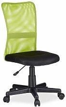 Relaxdays Chaise de bureau ergonomique fauteuil