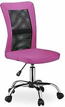 Relaxdays Chaise de Bureau, Hauteur réglable,