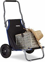 Relaxdays Chariot Pliant, Chaise roulettes