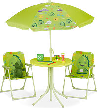 Relaxdays - Ensemble chaise table de camping ,