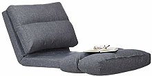 Relaxdays Gris Chaise Longue Fauteuil Relax