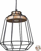 Relaxdays Lampe à suspension GRID design