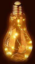 Relaxdays Lampe de Table à LED en Forme