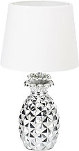 Relaxdays - Lampe de table Ananas, lampe deco