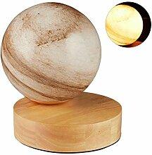 Relaxdays Lampe de table, aspect marbre, Lampe de