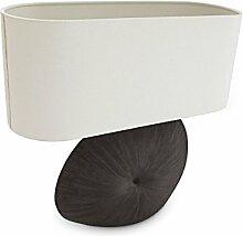 Relaxdays Lampe de table Ceramy chevet en