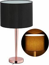 Relaxdays - Lampe de table, grosse veilleu avec