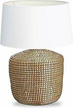 Relaxdays Lampe de table herbe de mer lampe de