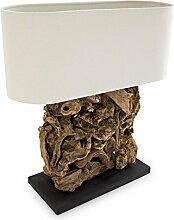 Relaxdays Lampe de table RUTH lampe de chevet de