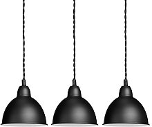 Relaxdays Luminaire suspension lampe de plafond 3