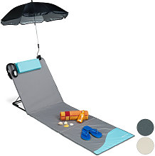 Relaxdays - Matelas de plage, Litière de plage