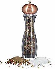 Relaxdays Moulin à sel moulin à poivre design