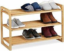 Relaxdays Schuhregal Étagère à Chaussures,