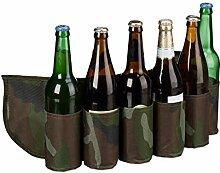 Relaxdays Sixpack Ceinture de bière pour 6