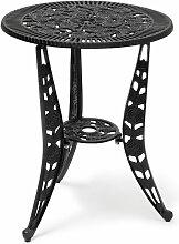 Relaxdays - Table de jardin bistrot café terrasse
