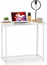 Relaxdays - Table de travail pliable,Table de