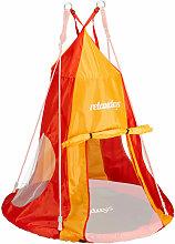 Relaxdays - Tente pour balançoire en nid 110 cm