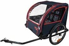 Remorque velo - trailerbike remorque enfant vélo