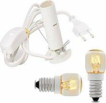 Remplacement électrique de la lampe au sel de