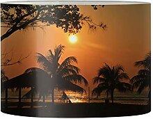 Renewold Abat-jour imprimé coucher de soleil pour