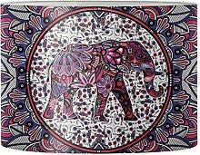 Renewold Abat-jour rond imprimé mandala