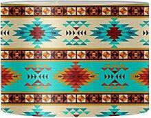 Renewold Baja Abat-jour rond imprimé tribal