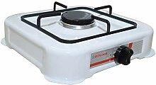 REPLOOD Réchaud à gaz GPL 1 feu blanc, réchaud