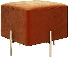Repose-pieds ottoman carré, tabouret de
