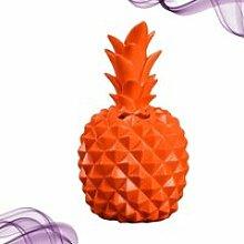 Résine Ananas Forme Économie Pot Créative