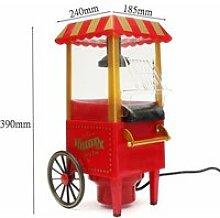Rétro Chariot Appareil Machine à Pop Corn Maker