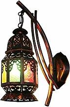 Retro E27 Applique lampe Corridor design marocain