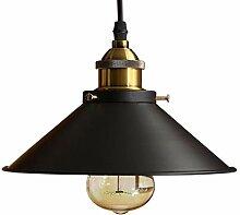 Rétro Suspension Luminaire Industrielle, Métal
