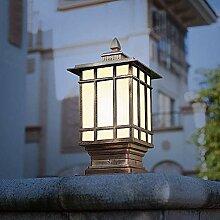 Rétro Vintage Antique Lampe De Table Étanche
