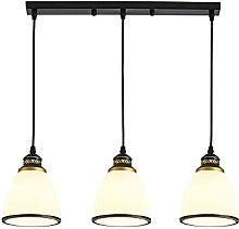 RétroTable à manger Lumières 3-Lampe