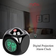 Réveil à projection numérique Horloge de bureau