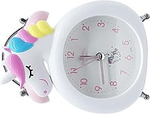 Réveil,bureau,Licorne LED Horloge