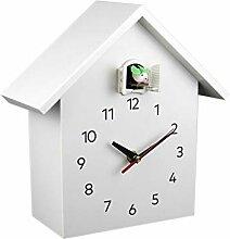 Réveil Coucou Quartz Horloge murale moderne